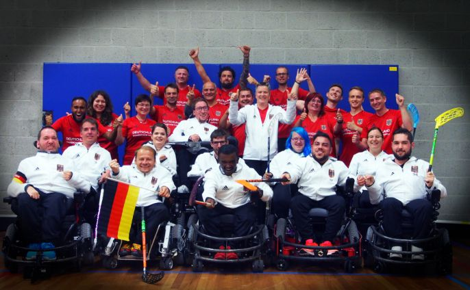 Powerchair Hockey EM Bronze-Team